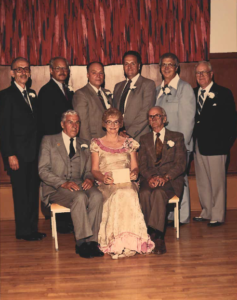 This is a photo of Selkirk Council from 1958-1965