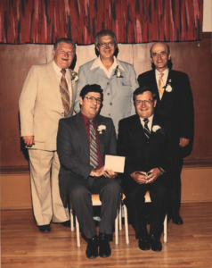 This is a photo of Selkirk Council from 1966-1967