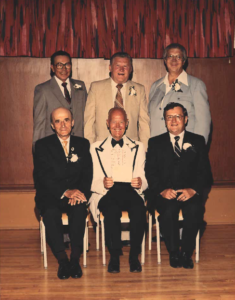This is a photo of Selkirk Council from 1968-1970