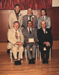 This is a photo of Selkirk Council from 1972-1973
