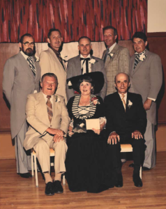 This is a photo of Selkirk Council from 1974-1977
