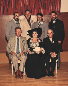 This is a photo of Selkirk Council from 1978-1980