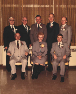 This is a photo of Selkirk Council from 1983-1986
