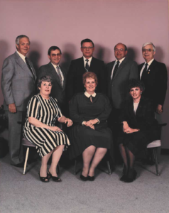 This is a photo of Selkirk Council from 1986-1989