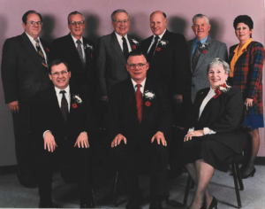 This is a photo of Selkirk Council from 1992-1995