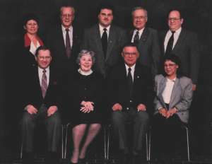 This is a photo of Selkirk Council from 1995-1998
