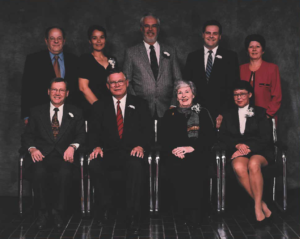 This is a photo of Selkirk Council from 1998-2002