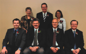 This is a photo of the Selkirk Council from 2010-2014