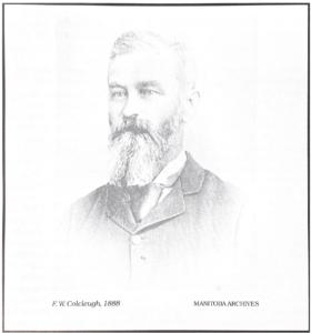 Mayor F.W. Colcleugh