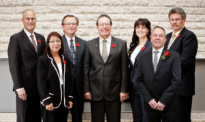 This is a photo of the Selkirk Council for 2014-2018